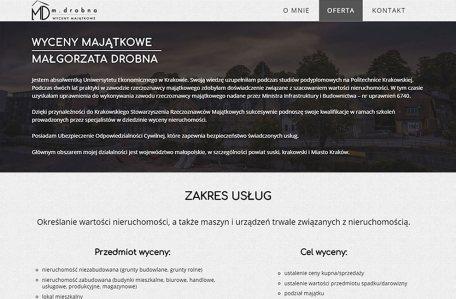 Strona internetowa rzeczoznawcy majątkowego