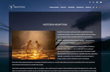 Strona organizacji MyMuayThai